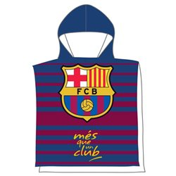 Pončo FC Barcelona 55x110 cm