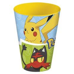 Stor dětský plastový kelímek Pokémon 430 ml