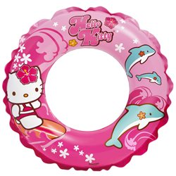Intex dětský nafukovací kruh Hello Kitty