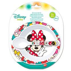Stor dětská plastová sada nádobí Minnie