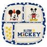 Stor dětský bambusový talíř Mickey Mouse