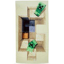 HALANTEX Bavlněná osuška MINECRAFT 70x140 cm