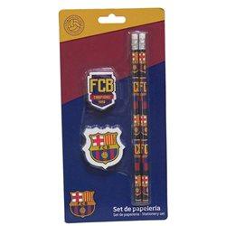 CYP Imports set školní pomůcek FC Barcelona 4 ks
