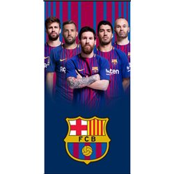 CARBOTEX Osuška FC Barcelona Team 70x140 cm