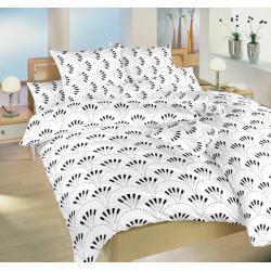 Dadka bavlněné povlečení Gabru bílý 140x200, 70x90 cm