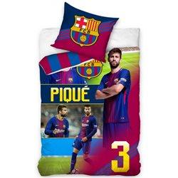 Carbotex povlečení FC Barcelona Piqué 2018 140x200, 70x80 cm