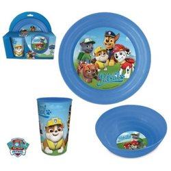 ELI dětská sada plastového nádobí Paw Patrol modrá