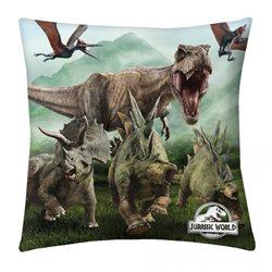 HALANTEX Polštářek Dinosauři Jurský Park 01 40x40 cm