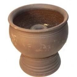 Keramická petrolejová lampa (zahradní lampa)