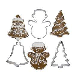 JANDEJSEK sada vykrajovátek na cukroví Vánoční motivy 3 ks