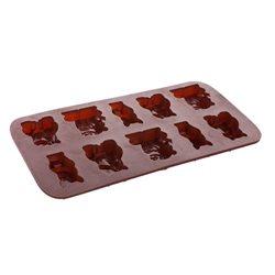 BANQUET Formičky na čokoládu Culinaria Zvířátka (silikon)