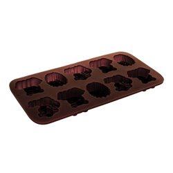 BANQUET Formičky na čokoládu Culinaria Zvířátka 2 (silikon)