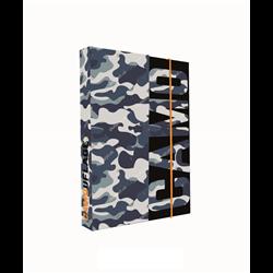 KARTON P+P box na sešity A5 Army 16x23x3 cm
