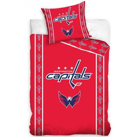 TipTrade Povlečení NHL Washington Capitals Stripes 140x200, 70x90 cm