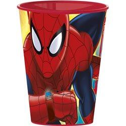 STOR Dětský plastový kelímek Spiderman Red (260 ml)