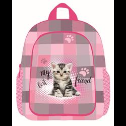 Karton P+P Dětský batoh Kočka 23x11x30 cm