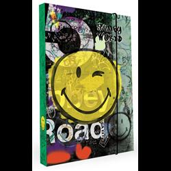 KARTON P+P Box na sešity A4 Emoji 23x32x3,5 cm
