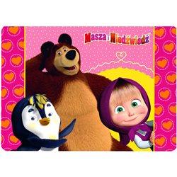 DERFORM Dětské prostírání Máša a Medvěd 40x28 cm
