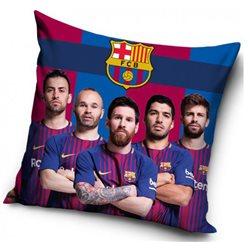 CARBOTEX Polštářek FC Barcelona Hráči 40x40 cm