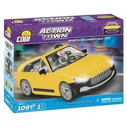 COBI Action Town stavebnice Sportovní auto GTS