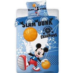 FARO Povlečení Mickey Mouse Basketball 140x200 70x90
