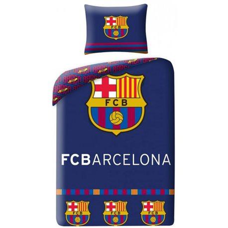HALANTEX Povlečení FC Barcelona Erb 140x200, 70x90 cm