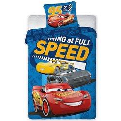 FARO Dětské povlečení Cars 3 Speed 140x200, 70x90 cm
