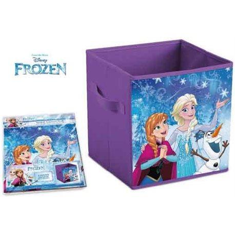 ELI Dětská truhla na hračky Frozen 28x28x28 cm