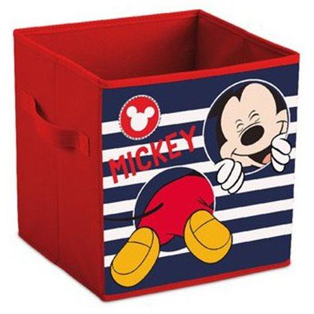 ELI Dětská truhla Mickey Mouse 28x28x28 cm