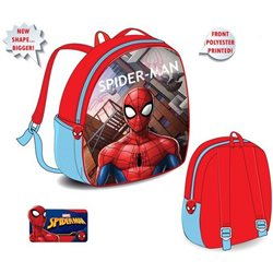 SUN CITY Dětský batoh Spiderman 27x9x32 cm