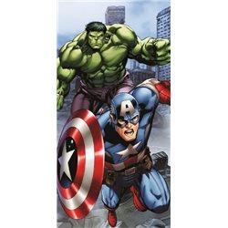 COTTONLAND Osuška Avengers 70x140 cm