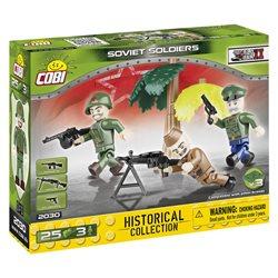 COBI-2030 Small Army stavebnice Figurky vojáků Sovětské arm