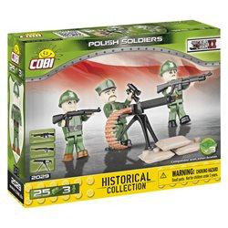 COBI-2029 Small Army stavebnice Figurky vojáků Polské armády