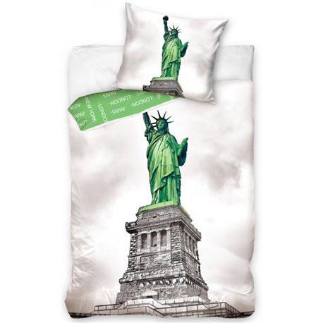 TIP TRADE Povlečení New York Socha Svobody 140x200, 70x90 cm