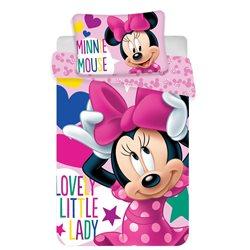 Dětské povlečení Minnie Baby 100x135, 40x60 cm
