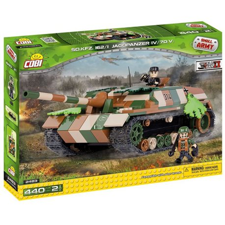 COBI-2456 Small Army stavebnice Jadgpanzer IV L/70