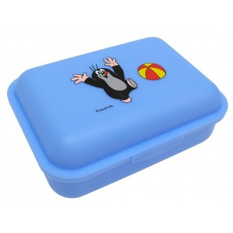 Box na svačinu Krtek a míč (modrý)