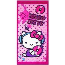 Stamatis Osuška HELLO KITTY Pink růžová 70x140 cm