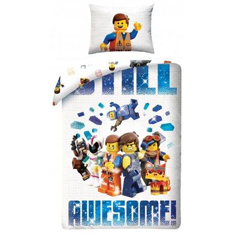 HALANTEX Bavlněné povlečení LEGO MOVIE 2 140x200, 70x90 cm