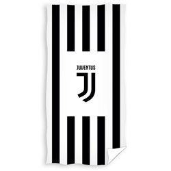 Carbotex Osuška JUVENTUS FC Black Stripes 75x150 cm