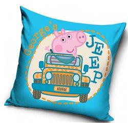 Dětský povlak na polštářek Peppa Pig George's Jeep