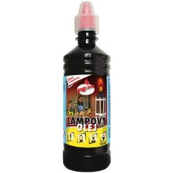 Lampový olej (čirý 0,5l)