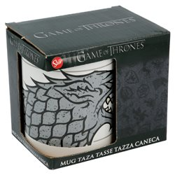 STOR Porcelánový hrnek GAME OF THRONES STARK 325 ml
