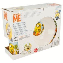 STOR Dětská porcelánová sada nádobí MIMONI PARADISE 3 dílná