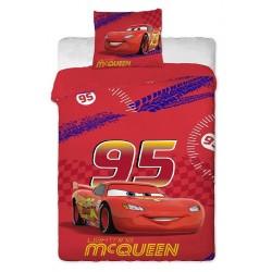 Jerry Fabrics Povlečení Cars Mc Queen 140x200 70x90