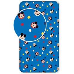 Dětské prostěradlo Mickey Mouse 004 90x200 cm