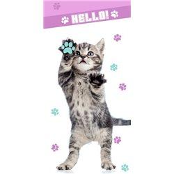 Dětská osuška Kočka Hello!