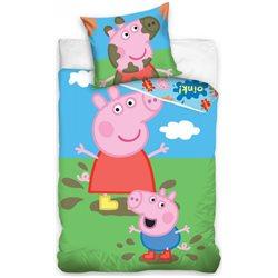 Dětské povlečení Peppa Pig a George