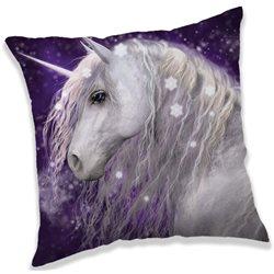 Dětský polštářek Unicorn Purple