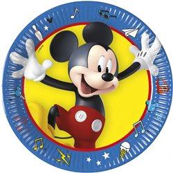 PROCOS Party papírové talíře MICKEY MOUSE 19 cm 8 ks